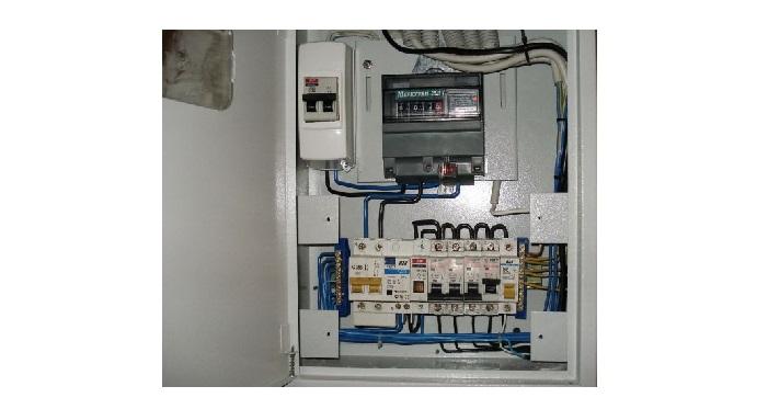 Электрический квартирный щит