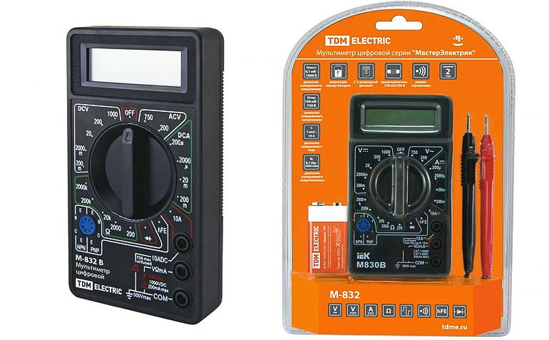 простой мультиметр для прозвонки проводов