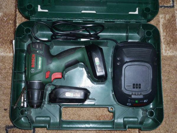 комплектация BOSCH PSR 1440 LI-2