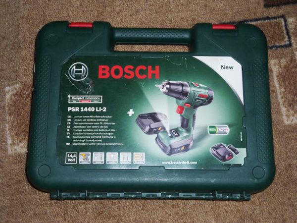 Кейс с BOSCH PSR 1440 LI-2